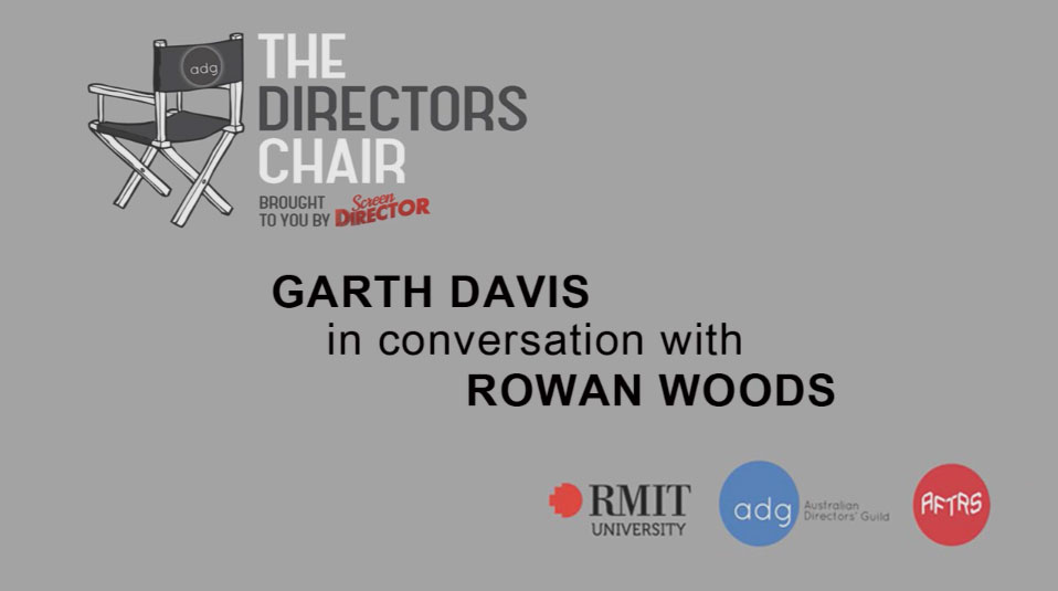 Garth Davis in conversation with Rowan Woods – video now available