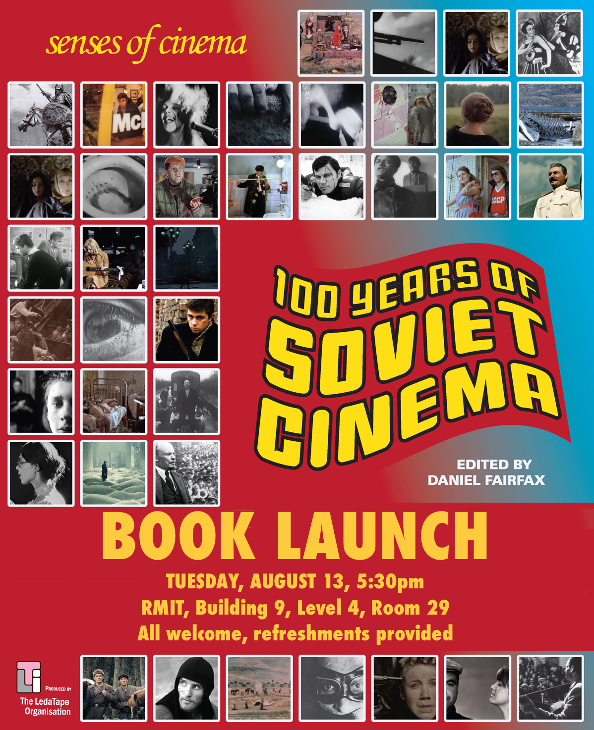 BOOK LAUNCH – 100 Years of Soviet Cinema